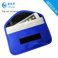 Buy cheap Canvas RFID Travel Bags , Mobile Phone Signal Rfid Blocking Wallet product