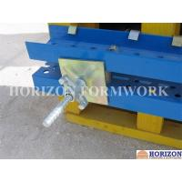 Buy cheap Galvanized Formwork Tie Rod System With Dywidag Thread , Wing Nut and Steel Cones product