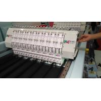 China Horizontal Quilt Making Machine , Straight Line Quilting With Embroidery Machine on sale