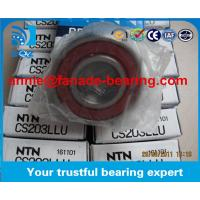 Quality Janpan Brand NTN Printing Machine Bearing Single Row Deep Groove Ball Bearing CS203LLU with size 17*40*12mm for sale