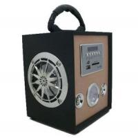China UK-368C Portable Woodiness Speaker Box for Picnic Music on sale
