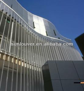 Buy cheap Motorized Electric Automatic Aluminum Sun Shade Louvers product