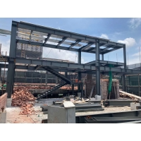 Buy cheap Customize H Beam Q355B Steel Structure Garage Frame from wholesalers