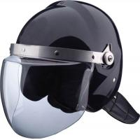 Buy cheap FAST Green, Tan Bulletproof police riot control helmet for enhanced combat product
