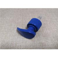 Quality Recyclable 24 410 Pump , Royal Blue Shampoo Bottle Pump SS316 Spring Material for sale
