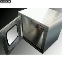 Buy cheap Premium SS Clean Room Box , Laboratory Pass Box With Ensured Air Tightness product