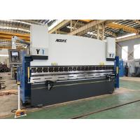 Buy cheap 175 ton x 4000mm 3 Axis CNC Press Brake Machine with DELEM DA52s CNC System product