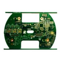 Buy cheap Speed Dome Cctv Camera Circuit Board / 1oz 4 Layers FR 4 Pcb product