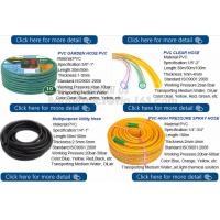 China Transparent PVC Spiral Pipe Plastic Hose With Spring Steel Wire Reinforcement on sale