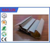 Quality Power Coated T Slot 6063 Extruded Aluminium Profiles , Car Aluminium Balustrade Systems for sale