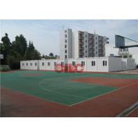 Buy cheap 20ft 40ft Folding Modular Classroom Buildings Demountable Temporary Classrooms product