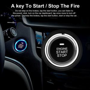 China Car PKE  Keyless entry burglar alarm smart engine starter one button push system on sale