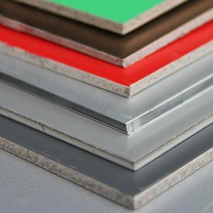 Quality ナノメーター(PVDF)のアルミニウム合成板/シート/パネル for sale
