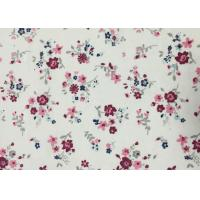 Buy cheap 150gsm Striped 21w Floral Corduroy Fabric With Nice Hand Feel product