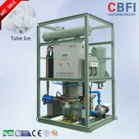 Buy cheap 20 Tons / Day Ice Tube Machine Large Production Ice Making Machines product