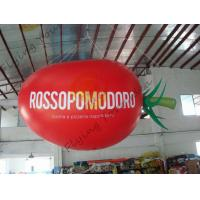 Buy cheap 4m Long Plum Tomato Shaped Balloons For Haning / Pop Display / Event Show product