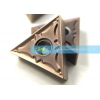 Buy cheap Triangle TNMG160404PM CNC Carbide Inserts For Steel Semi Finishing Turning from wholesalers