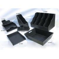 Buy cheap Black Plastic Packing Gift Boxes Handmade With Logo Hot Stamping product