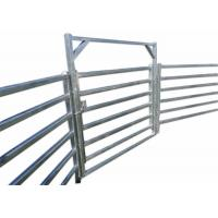 Buy cheap Hot Dipped Galvanized Pipe Full Welded Silver Painted AS/NZS standard 1.8mx2.1m from wholesalers