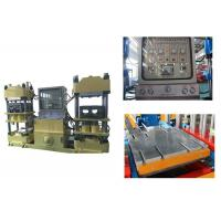 Buy cheap 42kw Hot Press Rubber Brake Pad Making Machine With Automatic Changeable Pressure product