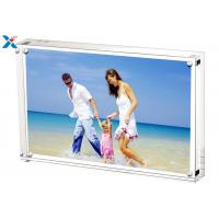 Buy cheap 5*7'' Magnetic Acrylic Picture Photo Frame With 10mm + 10mm Side from wholesalers