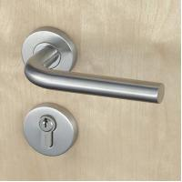 Buy cheap Silver SUS304 Stainless Steel Escutcheon Lock Fire Proof For Residential product