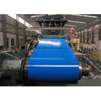 China OEM 508mm CID RAL Color Aluzinc Prepainted Steel Coils With Protective Film on sale