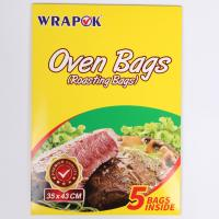 Buy cheap Clear Plastic Bread Cooking Turkey Oven Bag Eco Friendly Heat Resistant product