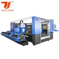 Buy cheap TY -3015JBG Fiber High Power Laser Cutting Machine For Pipes And Sheet product
