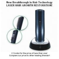 China Infrared Light Electric Comb For Hair Growth , Massage Laser Hair Brush For Hair Loss wholesale
