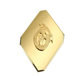 Buy cheap Mass Production Of Military Men's Belt Buckle Metal Badge Logo 61.5 X 42 X 40mm product