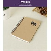 Buy cheap good quality kraft notebook promotion notebook any size any print product