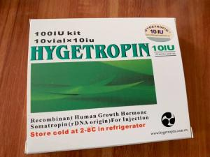 Buy cheap Lose Weight Human Growth Hormone Peptide Hygetropin HGH White Crystal Powder product