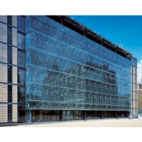 Buy cheap Architectural 4mm 5mm Aluminum Curtain Wall Facade product
