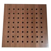 Fireproof Panels For Walls : Fireproof material sound absorbing music room wooden