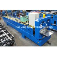 Buy cheap High Grade Single Color Steel Roofing Sheet Making Machine / Roll Forming Equipment product