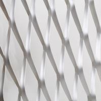 China stretching expanded metal sheets / diamond hole expanded steel panels wholesale