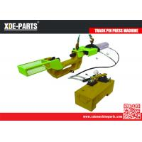 Buy cheap Hydraulic Track Link Press Machine, Excavator Track Pin Removal Installation Tool, Master Pin Pusher Installer product