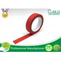 Buy cheap Kids Craft Multi Pack Colored Masking Tape / 140 - 150mic Thickness Red Packing Tape product