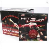 Buy cheap Red Color Nite Rider Nighter rider Maximum Male Libido Sexual Enhancer Pills For Men product