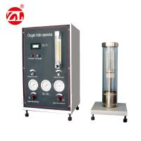 220V 50hz Limited Oxygen Index Tester Burning Materials Performance Test Available GB2406 for sale