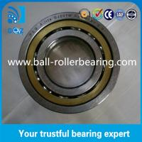 Buy cheap QJ207M Four Point Angular Contact Ball Bearing 17mm Height With Brass Cage product