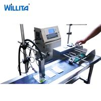 China Expiry Date Pigment Continuous Ink Printer System Single Colored With Self Cleaning function on sale