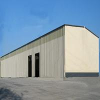 China Stable Prefabricated Warehouse Buildings Prefab Steel Building With Q345 Q235 on sale