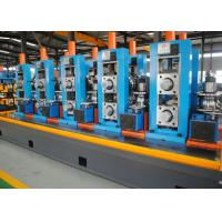 Quality High Precision Full Automatic ERW Pipe Mill , Worm Gearing Max.80m/min for sale