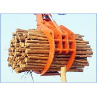 Buy cheap Ports Steel Hydraulic Clamshell Bucket / Railways Loading Single Excavator Grab from wholesalers