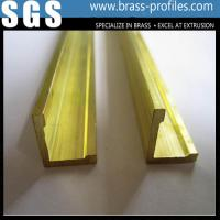 Buy cheap Brass Edge Tile Triim Frame / Edge Trim Brass Profiles Supplier product