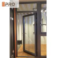 Buy cheap Customized Design Aluminium Hinged Doors For Construction Buildings stainless from wholesalers