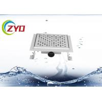 Buy cheap 3.5 Inch Bathroom Floor Grates , Silver Polished Pop Up Shower Drain Flange from wholesalers