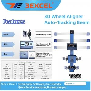 Buy cheap Turntables Auto Trucking Beam T268 3d Wheel Alignment product